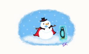frostbite the snowman