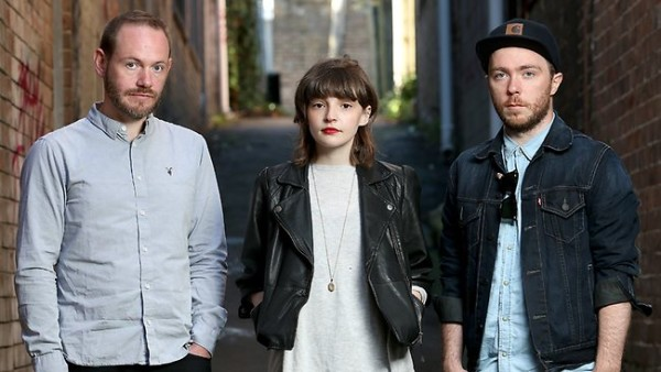 Chvrches Fly in From Europe
