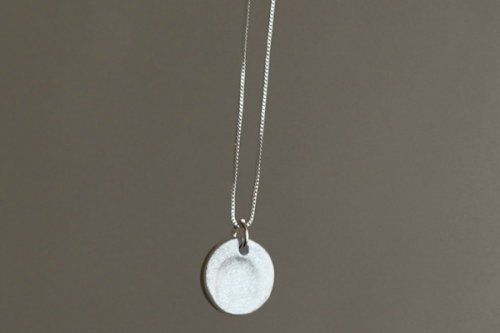 DIY Fingerprint Necklace