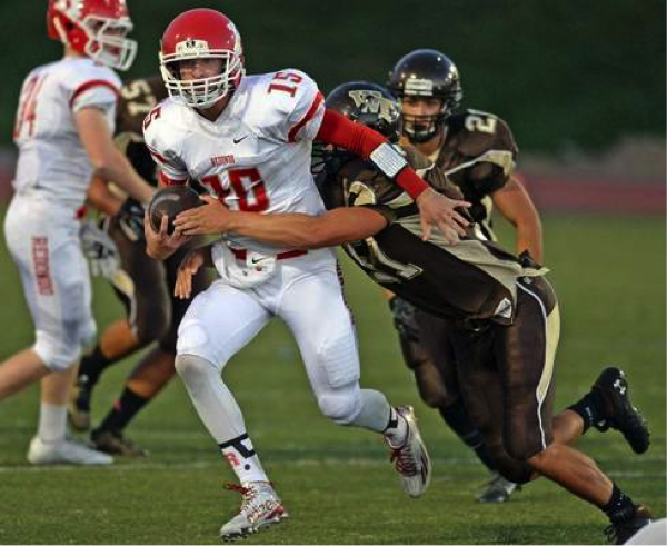 West Fumbles to Redondo