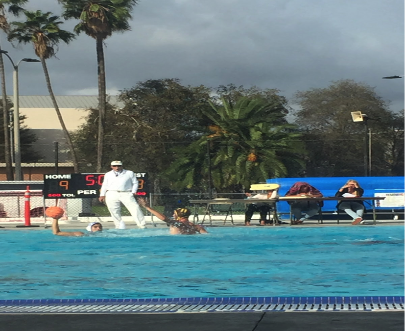 Torrance Makes a Splash Against West Water Polo