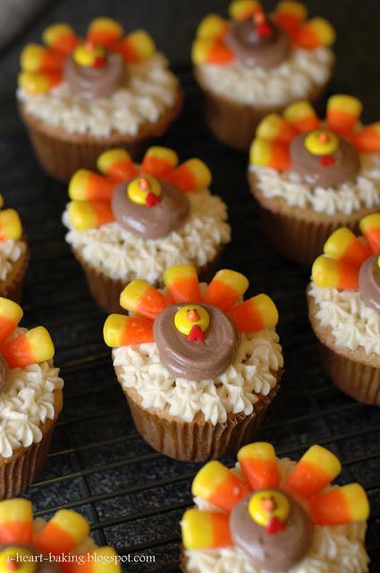 Gobble Gobble Cupcake Time