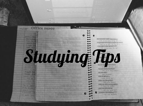 Ten Tips for Acing Finals