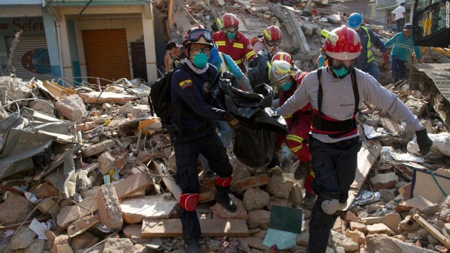 Deadly Quake Leaves Ecuador in Shambles
