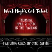 West's Got Talent!