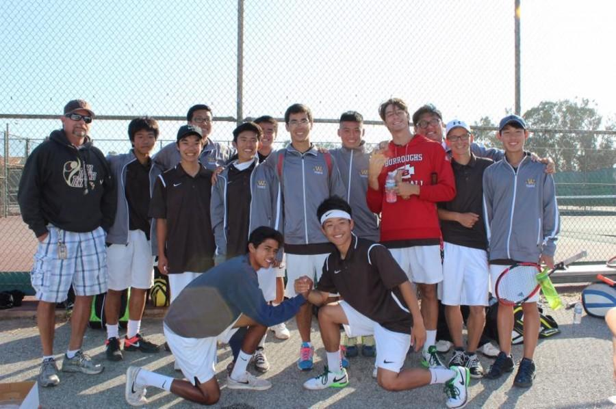 West High Boys Varsity Tennis
