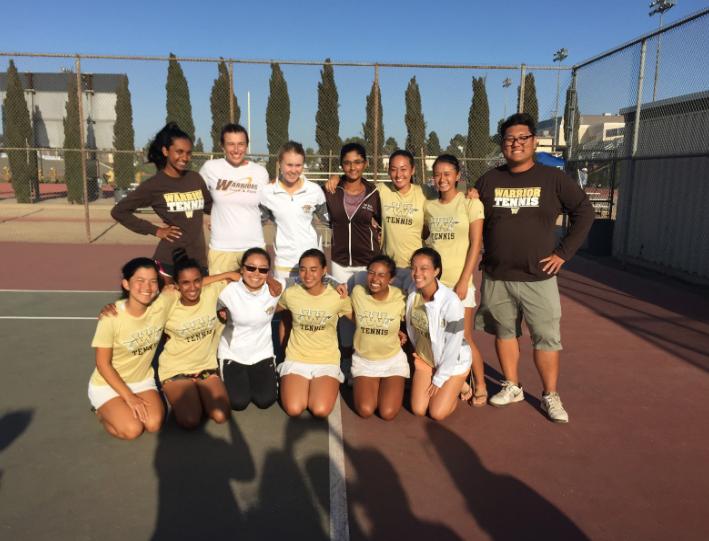 Girls Tennis Gaining Ground