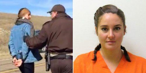 Divergent Star in Handcuffs