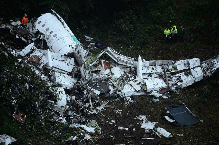 Brazilian Soccer Team's Plane Crashes: 71 Dead