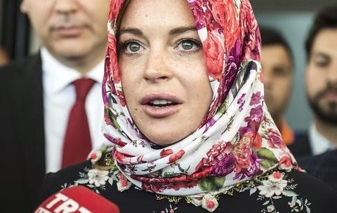Lindsay Lohan claimed she was