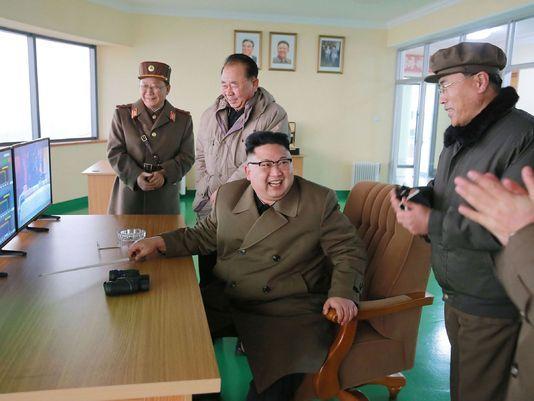(AFP PHOTO/KCNA VIA KNS)