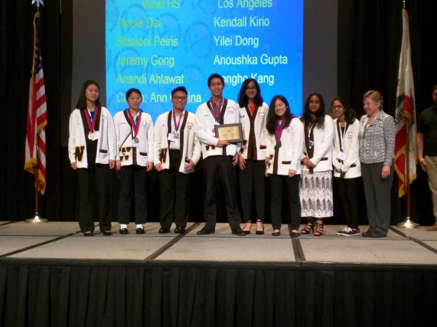 West Acadec Takes 8th at State