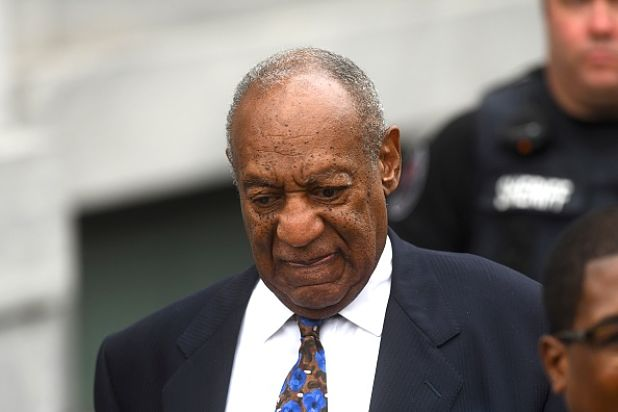 NORRISTOWN, PA - SEPTEMBER 24:  Bill Cosby departs the Montgomery County Courthouse on the first day of sentencing in his sexual assault trial on September 24, 2018 in Norristown, Pennsylvania.  In April, Cosby was found guilty on three counts of aggravated indecent assault for drugging and sexually assaulting Andrea Constand at his suburban Philadelphia home in 2004.  60 women have accused the 80 year old entertainer of sexual assault. Courtesy of the Wrap
