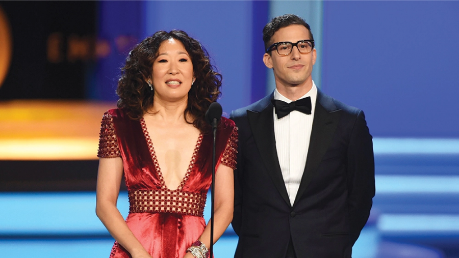 Oh, Sandra Oh Hosted The Golden Globes