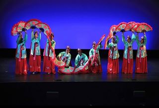"The year typically culminates in Korean Culture Night, which includes a traditional Korean fan dance called 부채춤 (pronounced ""Buchaechum""). Hopefully Korean Culture Night can happen this year!"