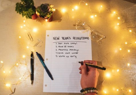 "It's time to write your New Year's Resolutions for 2021. Faith Shortridge (12), a West High student who makes resolutions every year, recommends to ""keep growing every day and try your best"" with yearly goals. With the help of psychological tips, you will be able to not only create realistic resolutions, but maintain them as well."