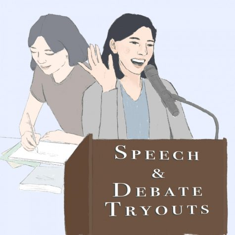 "On April 12th-14th, tryouts for West High's Speech and Debate team were held. Team captain Jana Abulaban (11) expresses what she got out of being a part of the team: ""Once I joined, I understood the broader concept of Speech and Debate and really understood what I wanted to gain [from] it: that feeling of being part of a really supportive team...I have learned to publicly speak more and be more confident with it."""