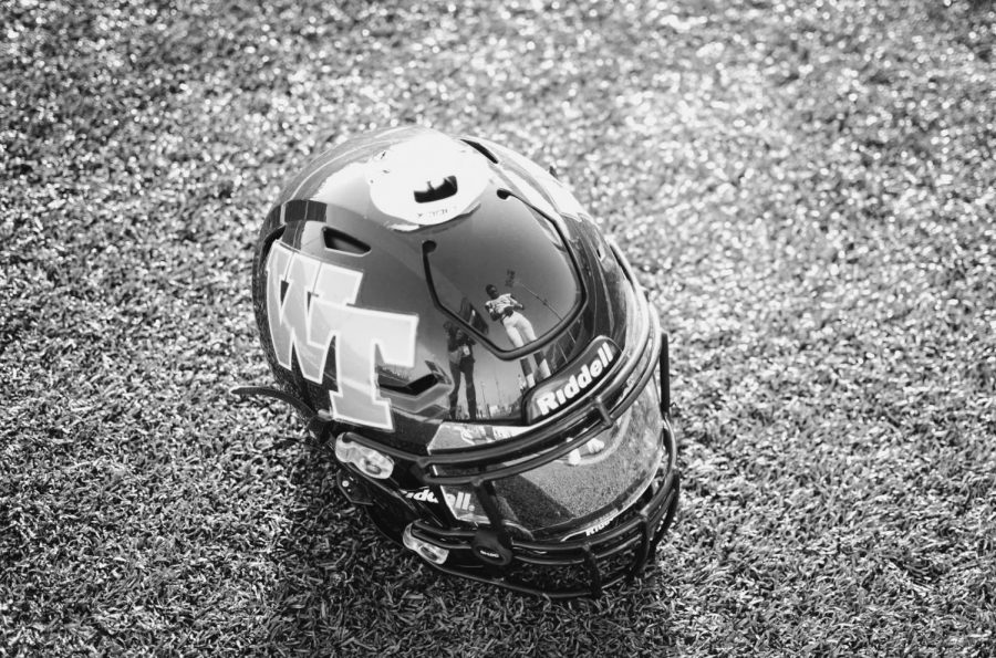 """For many of the players, Friday's game was the last time they sported the West High football helmet. """"I just wanted to give a thank you to all the seniors for playing their hearts out this year and a shout-out to the underclassmen who stepped up this year,"""" shared the team's defensive end, Chris Pech (12). """"I thank you for everything."""""""