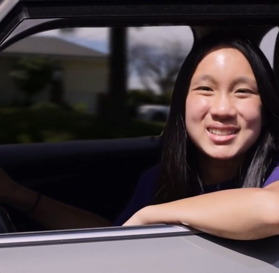 """Allison Tsai (10) in her campaign video, using a fun intro that took advantage of the popular song """"Drivers License"""" by Olivia Rodrigo, and related the song to student experiences. After her win, she said, """"Knowing that I would be able to do something I loved next year was the most amazing feeling!"""" Her passion for the job is definitely likely to make her a great leader."""