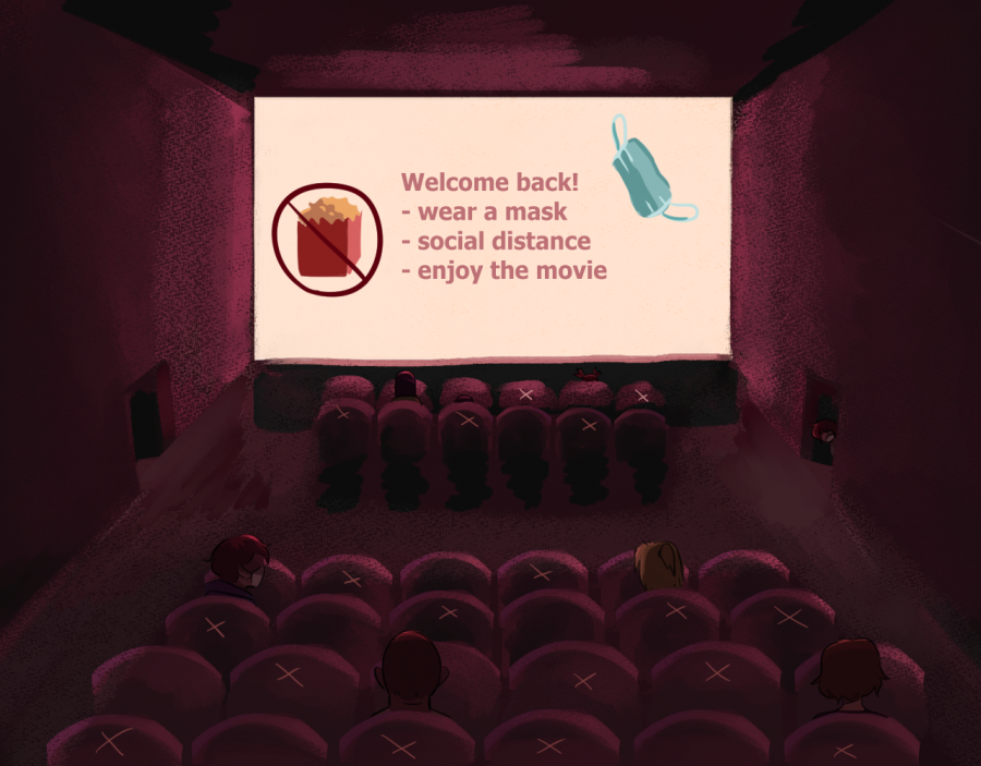 Since the gradual lifting of lockdown restrictions in California, businesses such as movie theaters are slowly beginning to reopen. But after Governor Gavin Newsom announced the elimination of capacity limits in these theaters, some movie-goers wonder if it will remain safe.