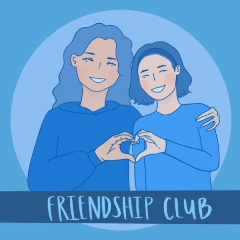 """West High's Friendship Club is back on campus with a ton of new in-person events! After almost two years of missing out on activities due to the pandemic, West High Chapter co-president Faith Iwanaka (11) is """"super excited to get going again this year."""""""